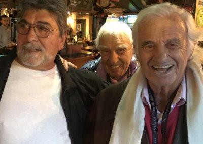 Visite de Jean-Paul Belmondo
